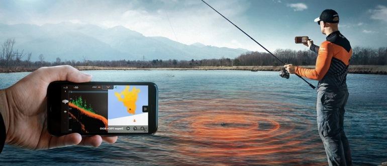 Эхолоты для рыбалки: виды и особенности